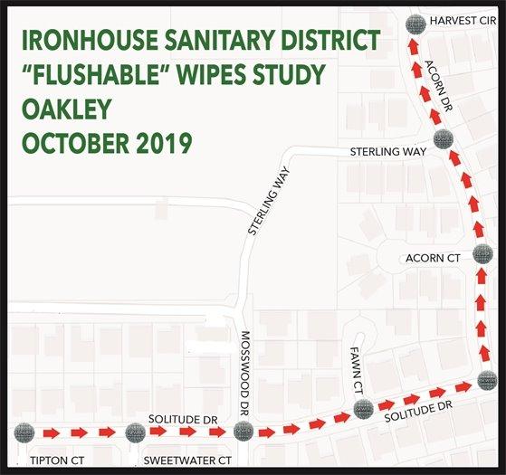 Wipes study map