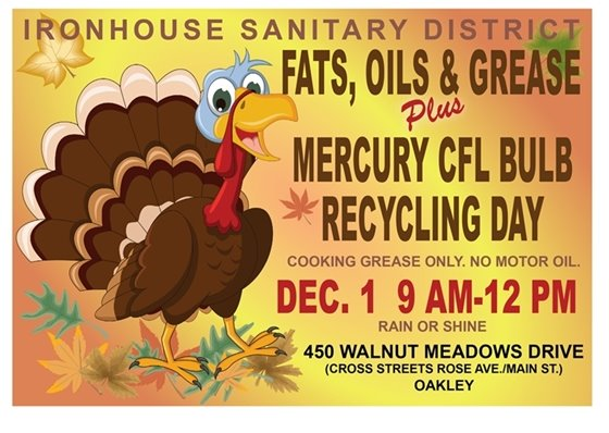 Recycling Day Dec. 1 9 a.m to noon