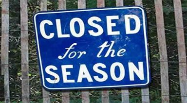 closing for the season